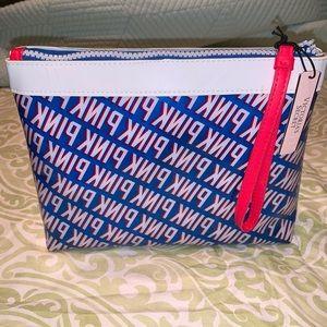 PINK Clutch/Zipper Bag - NWT